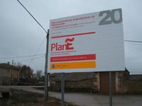 Plan E, carteles por todas partes