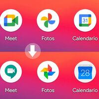 Cómo volver a los iconos antiguos de Gmail, Calendar, Fotos y Google Drive en Android