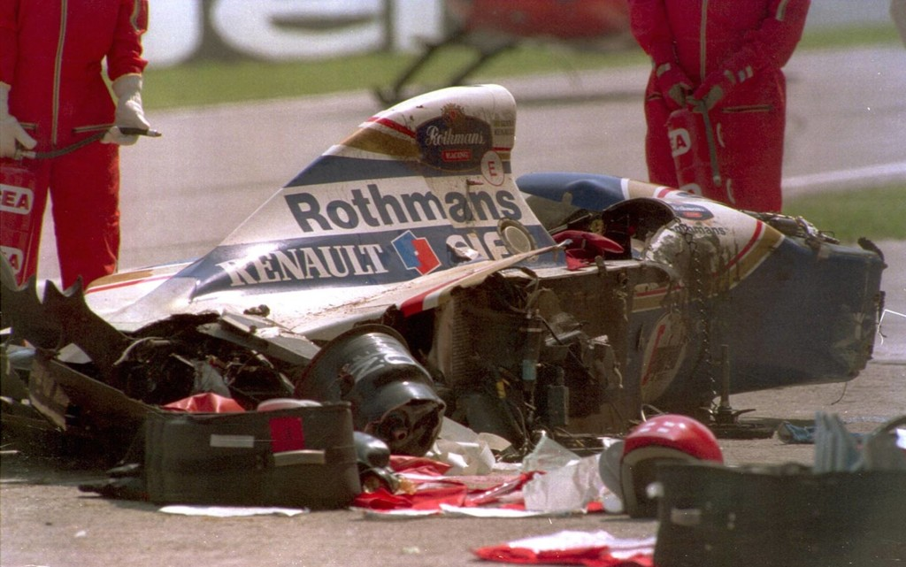 Accidente Ayrton Senna