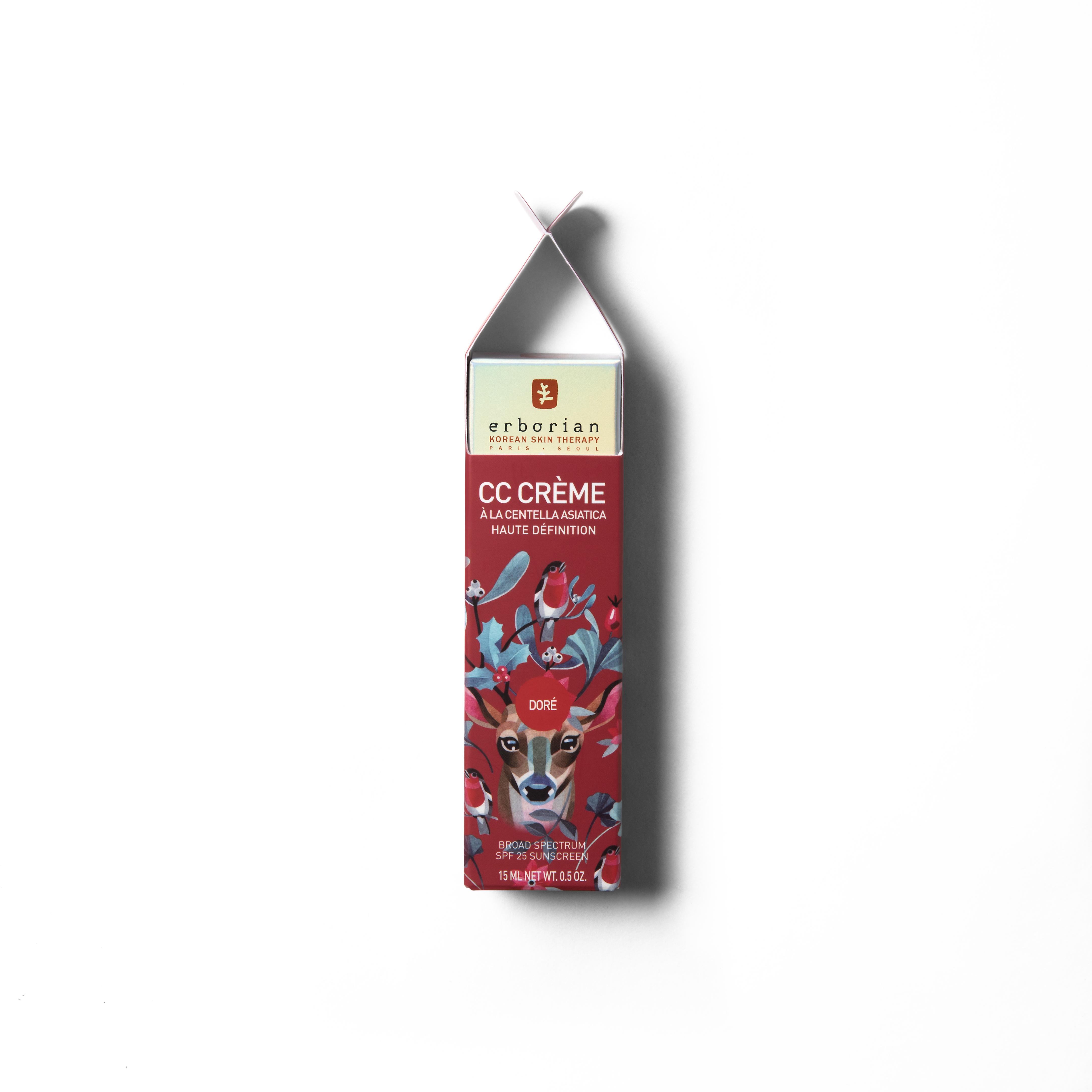 Crema CC de centella asiática de Erborian