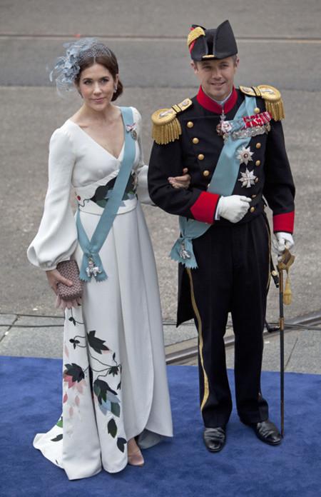 María de Dinamarca Holanda rey coronación