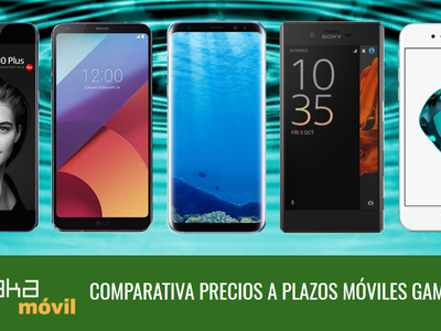 Estos son los mejores precios a plazos para el Galaxy S8, LG G6, Huawei P10, iPhone 7 y otros gama alta