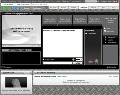 LiveVideo también ofrece servicio de canales de televisión por Internet
