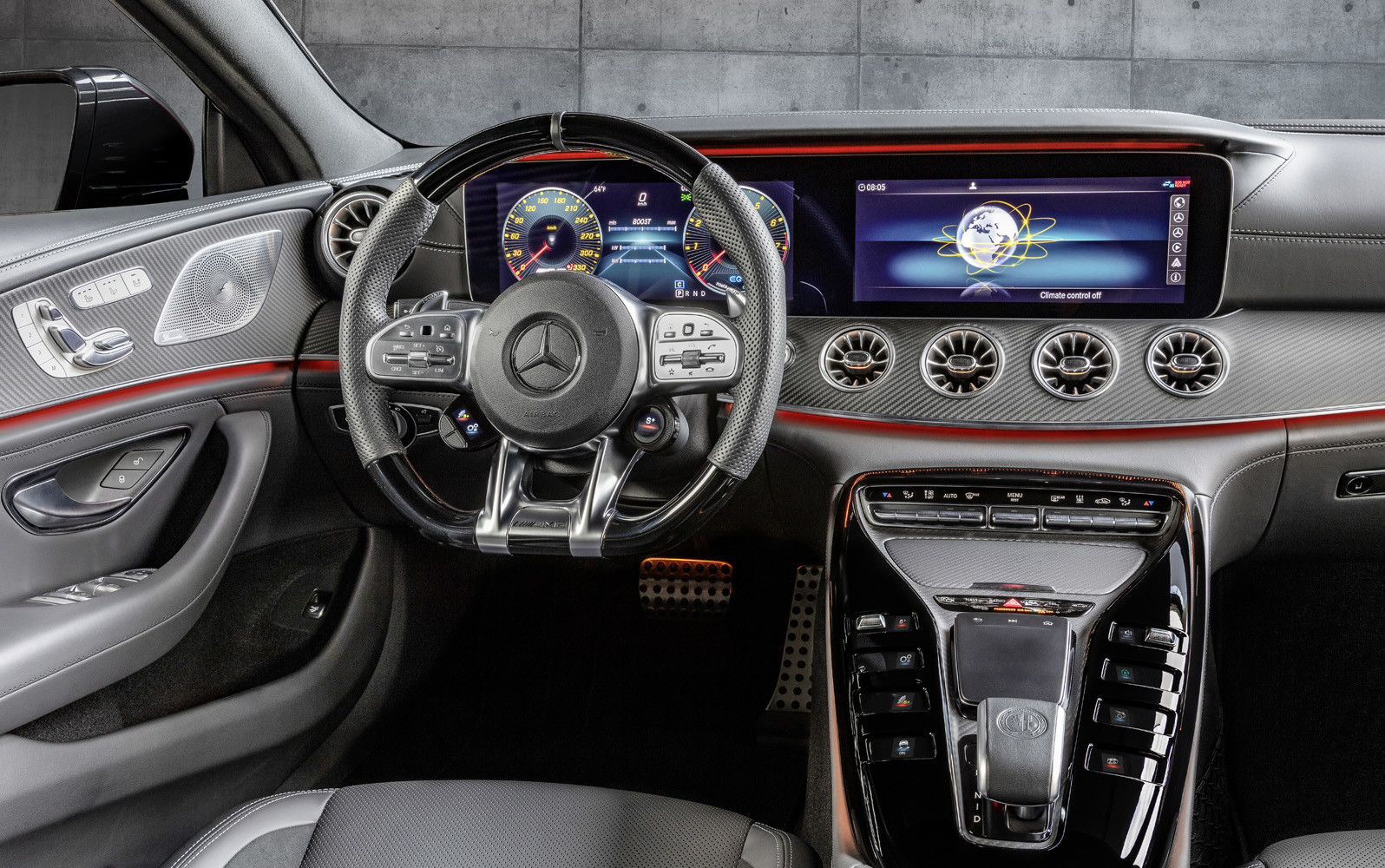 Foto de Mercedes-AMG GT 43 Coupé 4 puertas (18/18)
