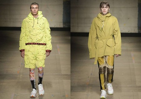 Bright Yellow London Fashion Week Trend Fall Winter 3