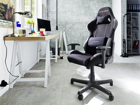La silla gaming DX Racer 5 Robas Lund para jugar y trabajar cómodamente está rebajada en Amazon a 205,12 euros