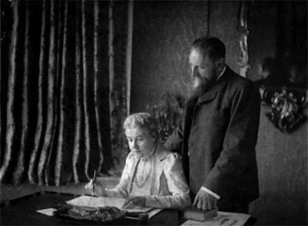 Los que vieron un átomo en el siglo XIX