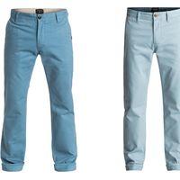 Superweekend en eBay: pantalones chinos para hombre Quiksilver Everyday desde 26,38 euros con envío gratis