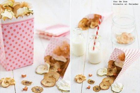Recetas de snacks nutritivos y sabrosos