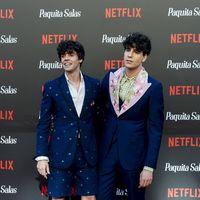Los Javis vuelven a vestirse de Gucci para la alfombra roja en la premiere de 'Paquita Salas'