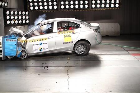 Prueba de choque nuevo Chevrolet Aveo