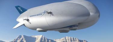 Los aviones contaminan y los barcos aire lentos, por eso hay quien quiere resucitar el zepelín para transportar mercancías