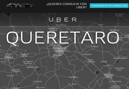 El gobierno de Querétaro también se apunta para la regulación de Uber y Cabify