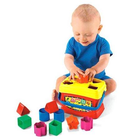Bloques infantiles: clase de geometría para un futuro arquitecto (los 10 juguetes más queridos)