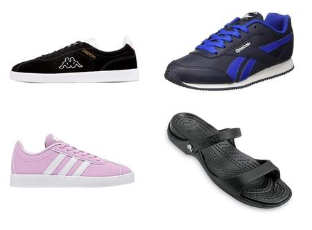Chollos en tallas sueltas de zapatillas y sandalias Crocs, Reebok, Adidas y Kappa en Amazon