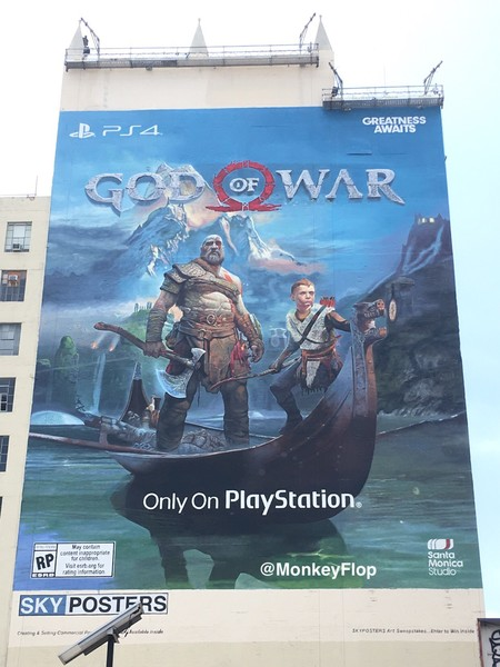 God Of War Mural E3