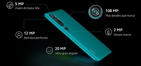 Xiaomi Mi Note 10 Cinco Camaras 108 Megapixeles Oficial