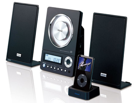 Teac CD-X10i, sistema de audio con CD y base para el iPod