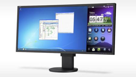 NEC lanza un monitor IPS ultraconectado y preparado para doble pantalla
