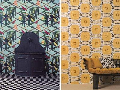 Papeles pintados para transformar tu hogar: Descubre la nueva colección de Gastón y Daniela