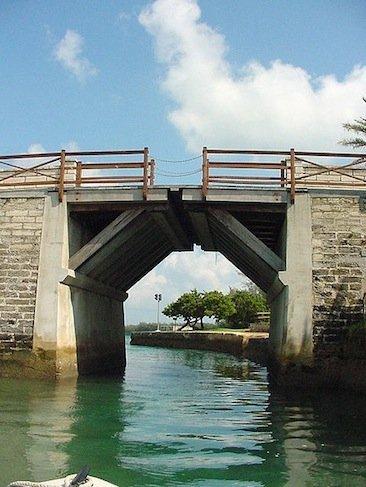 El puente levadizo más pequeño del mundo está en las Bermudas