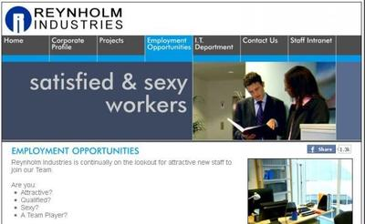 La web de la empresa de 'The IT Crowd', la imagen de la semana