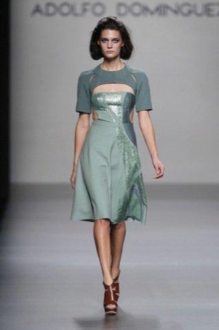 Adolfo Domínguez Primavera-Verano 2011 vestido