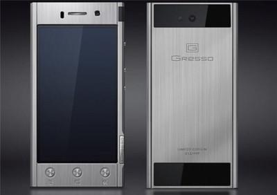 Gresso lanza sus terminales Android construidos con titanio