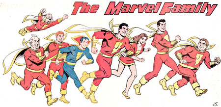 Shazam Marvel Family