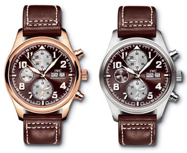 IWC Saint Exupery, otro reloj chocolate