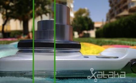 Samsung Galaxy S4 zoom, objetivo
