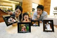 Nuevos marcos digitales con Wi-fi, de Samsung