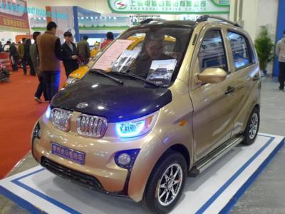 Al BMW i3 le ha salido un hermano chino... y no mola nada