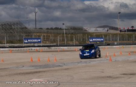 Michelin, Circuito del Jarama, Neumáticos nuevos y neumáticos desgastados a prueba 07