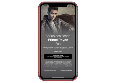 Prince Royce App