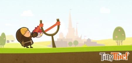 Tiny Thief, de la española 5 Ants, es uno de los juegos escogidos por Rovio Stars