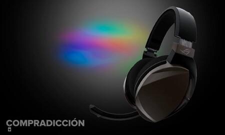 Estos auriculares gaming nunca han costado tan baratos en Amazon: ASUS ROG Strix Fusion Wireless por 103 euros