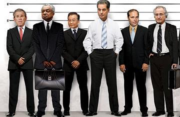 Los 25 culpables de la crisis
