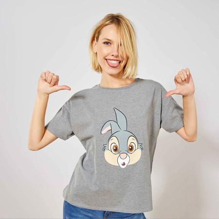 Kiabi Camiseta Tambor Gris Mujer Pvp 9eur