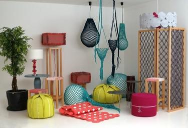 Los originales y alegres complementos textiles de Darono son ideales para el verano