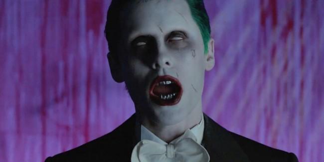Jared Leto dando vida al Joker