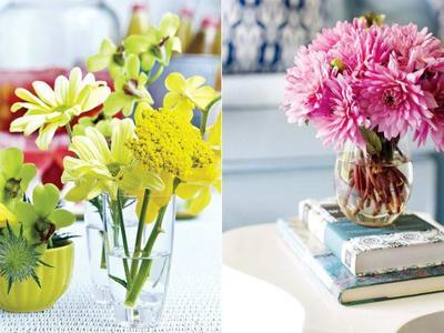 Flores en casa: tendencias e inspiración