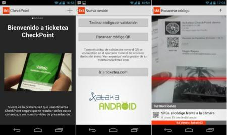 Ticketea Checkpoint disponible para Android, control de acceso para tu evento usando el móvil