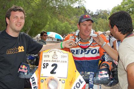 Dakar 2009: En Mendoza con Marc Coma