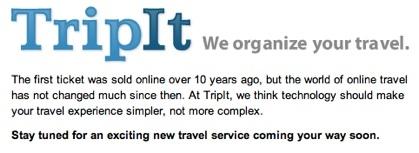 TripIt organiza tu viaje