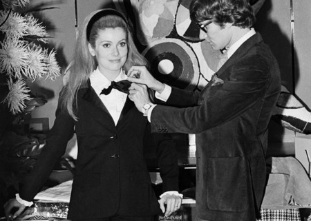 Catherine Deneuve E Yves Saint Laurent