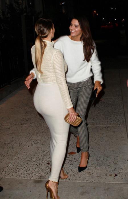 Culo Kim Kardashian look