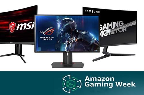 Ofertas en monitores Benq, MSI, LG o Samsung para jugar, rebajados por la Semana Gaming de Amazon