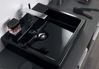 Sanitarios de diseño en negro para el baño