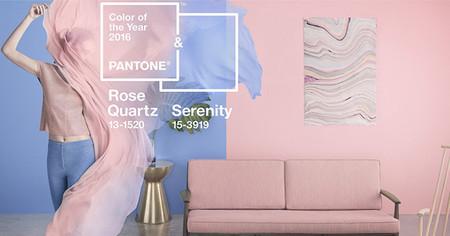 Pantone Color Of The Year Rose Quartz Serenity